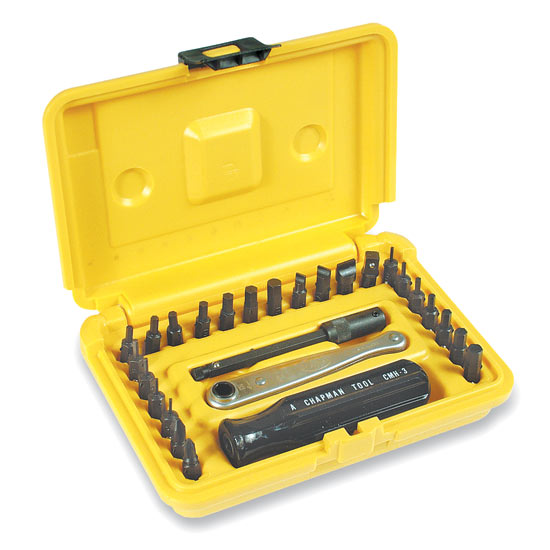 Inch/Metric Ratchet Set