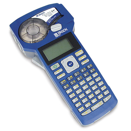 brady bmp 21 label maker rh tecratools com wire label maker grainger wire label maker software