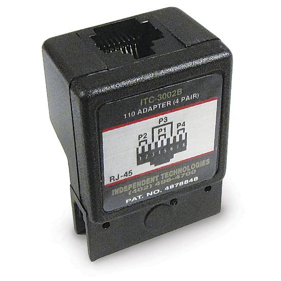 110 Block Adapter 4 Pair Rj45 568b