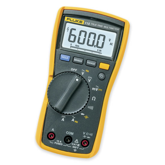 Fluke 115 Multimeter : Digital multimeter fluke