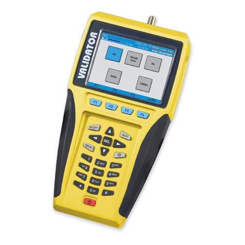 photo regarding Cat6 Cable Tester With Printable Results identify NT950 Validator Community Cabling Certifier