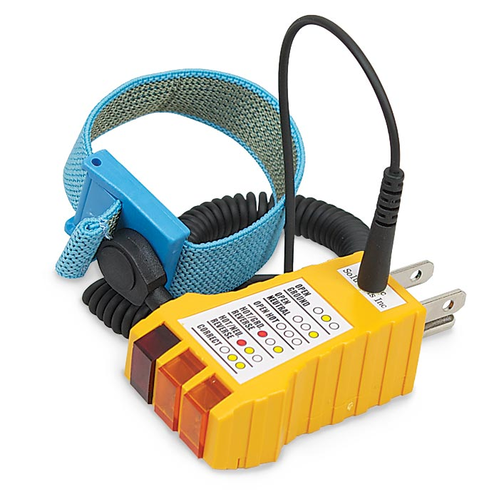 Pleasant Esd Grounding Plug And Outlet Tester Wiring Cloud Hisonuggs Outletorg