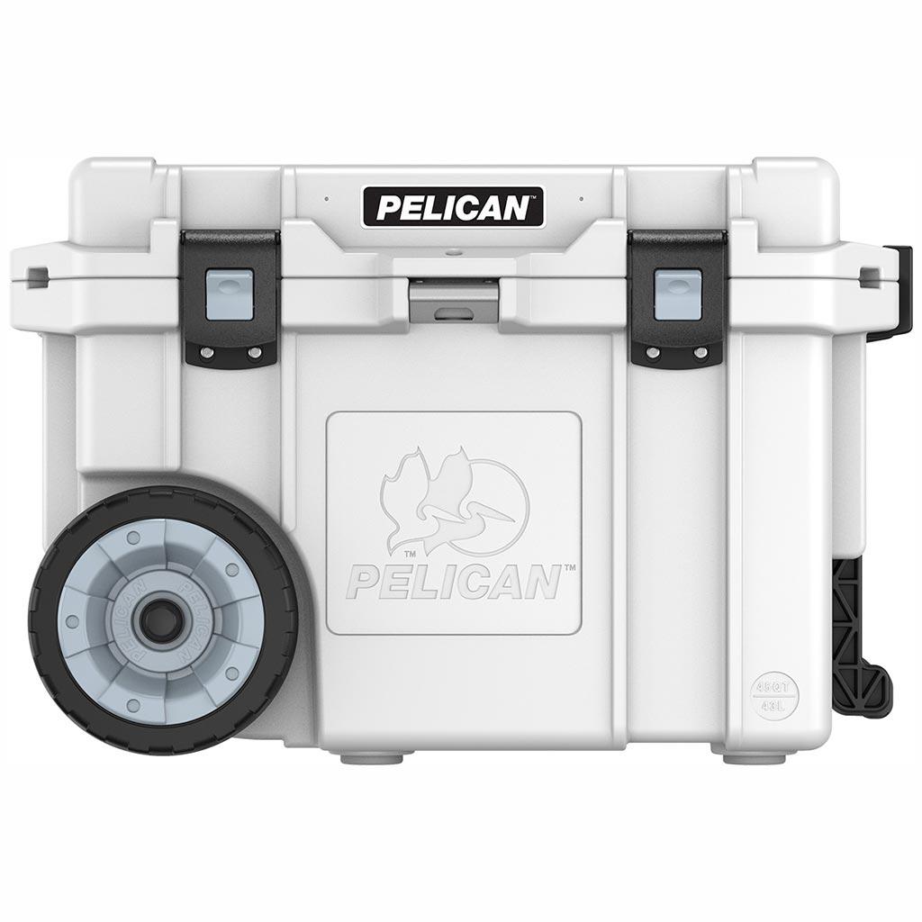 Pelican 45Q White Elite Wheeled Cooler