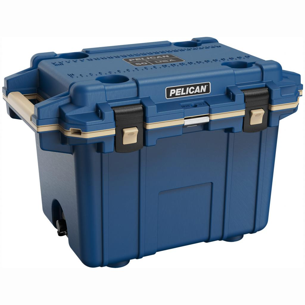 Pelican 50Q Blue Elite Cooler