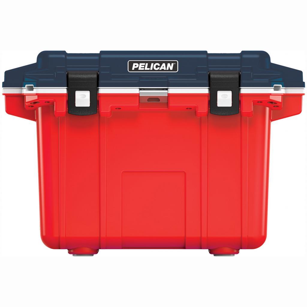 Pelican Elite 50 Quart Red, White & Blue Cooler