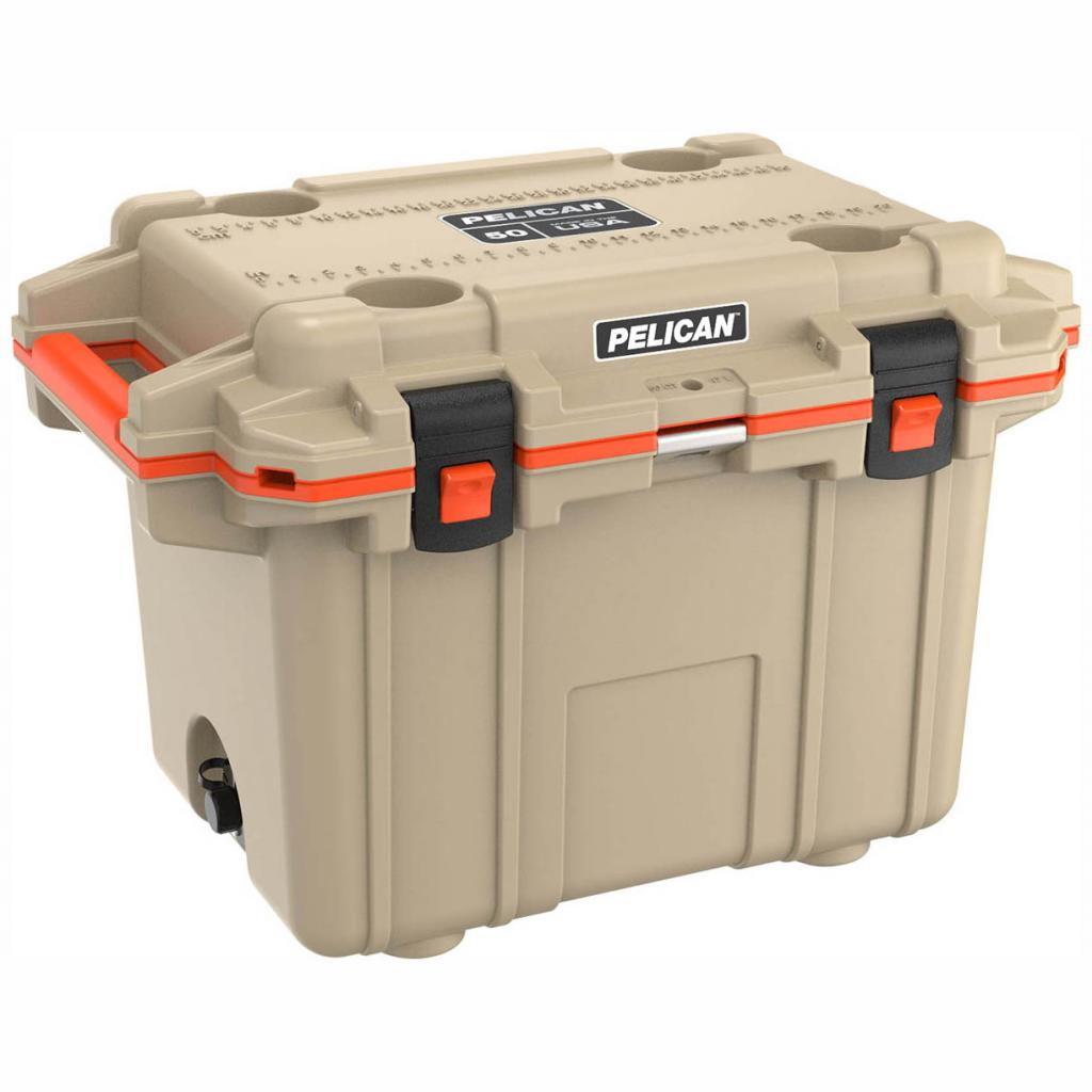 Pelican 50 Quart Tan Elite Cooler