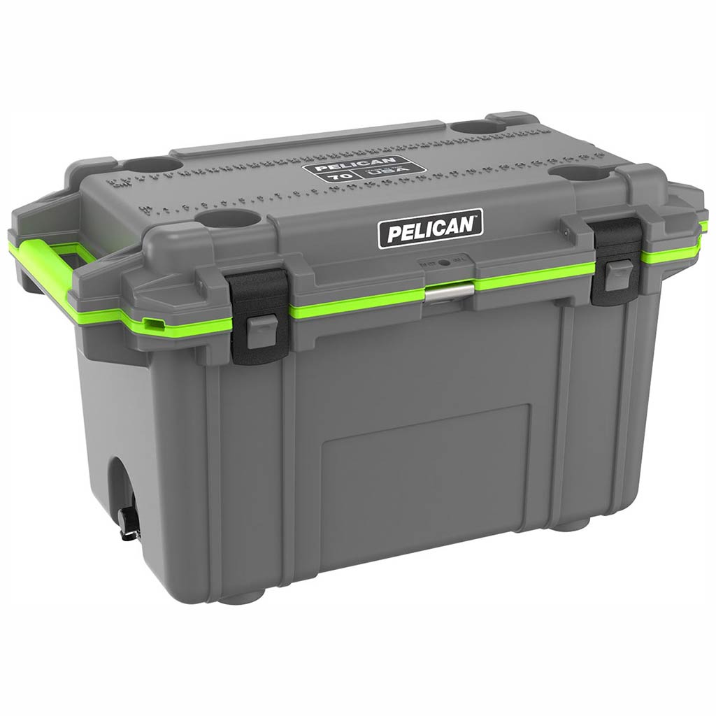 Pelican Elite 70 Quart Grey Cooler