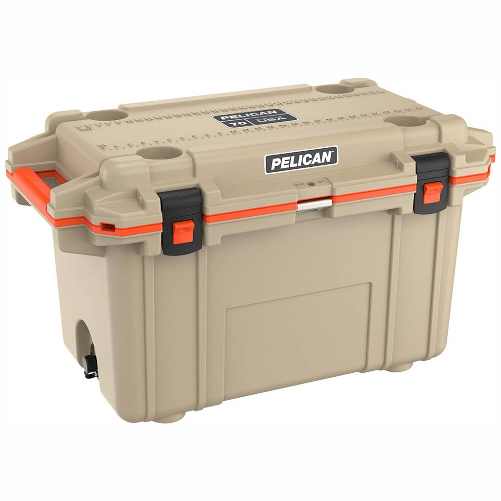 Pelican Elite 70 Quart Tan Cooler
