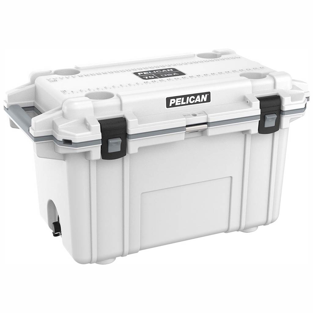 Pelican Elite 70 Quart White Cooler