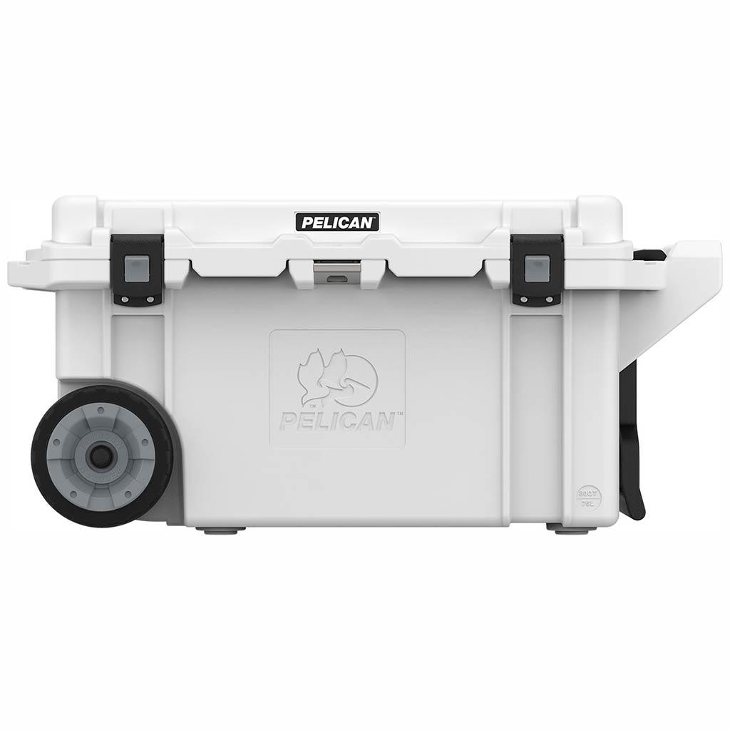 Pelican Elite 80 Quart White Wheeled Cooler