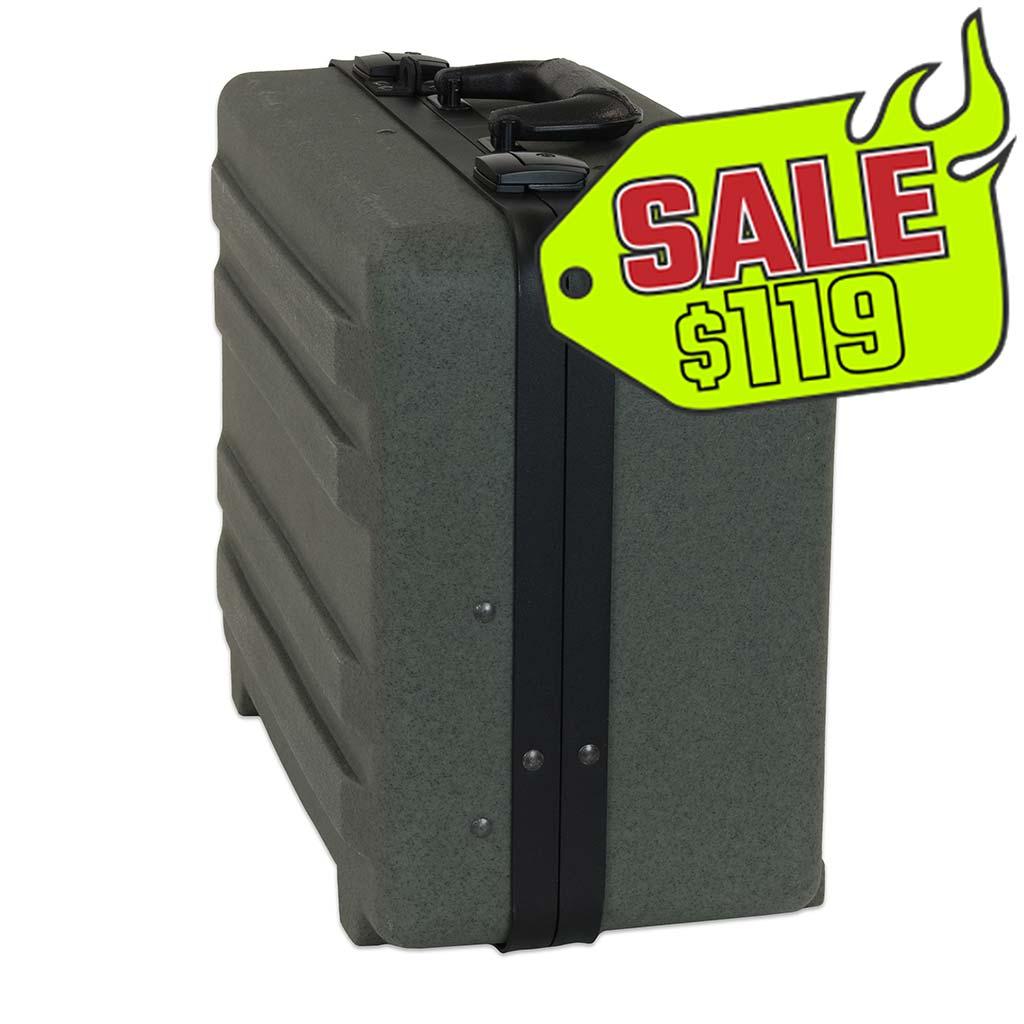 "8"" RLLD Roto-Rugged Gunmetal Tool Case"