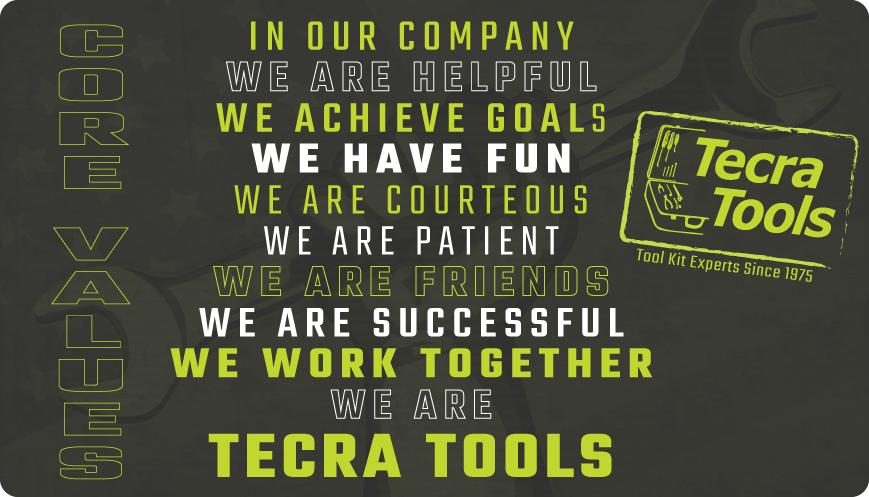 Tecra Core Values
