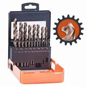 21-Piece HSS Cobalt Drill Bits Set