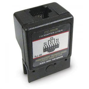 110 Block Adapter (4-pair RJ45/568B)