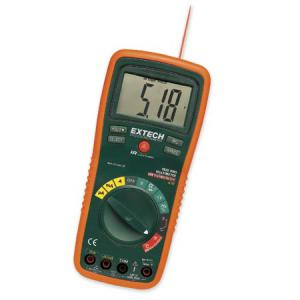 Fluke True RMS Clamp Meter - Extech True RMS Digital Multimeter with Laser Thermometer