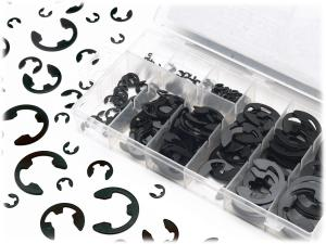 Hardware Assortment - 300 piece E-Ring E-Clip Assortment
