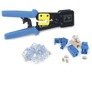 EZ-RJ Plugs, Jacks and Crimp Tool