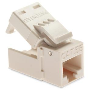 EZ-SnapJack Cat 5/5e Jacks - White 20 Pack