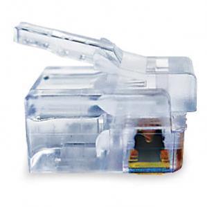 EZ-RJ12/11 Connectors - 100 Pack