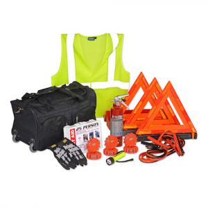 Deluxe DOT-Compliant Fleet Vehicle Safety Kit