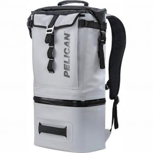 Pelican Dayventure Soft Sided Gray 19Q Backpack Cooler