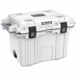 Pelican 50Q White Elite Wheeled Cooler