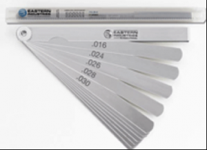 XF Series Long Feeler Gauge in Inch sizes