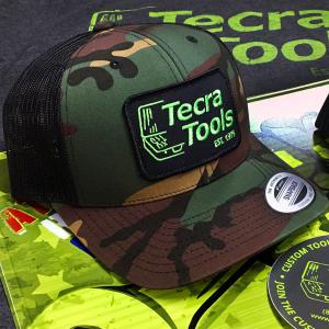 Tecra Camo Snapback Cap