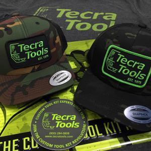 Tecra Camo Snapback Caps