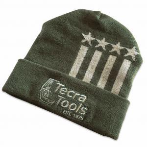 Tecra Stars & Stripes Knit Beanie