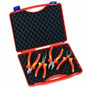 Knipex 4-Piece 1,000V Insulated Tool Set
