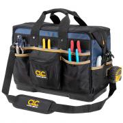 """CLC 16"""" Molded Base Contractor�s Closed-Top Tool Bag"""