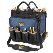 "CLC 17"" Molded Base Multi-Compartment Technician's Tool Bag"