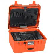 "PLLO 9"" Lifetime Warranty Orange Tool Case"
