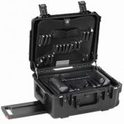 "PWLB 8"" Lifetime Warranty Wheeled Black Tool Case"
