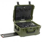"8"" Lifetime Warranty Wheeled Olive Drab Tool Case"