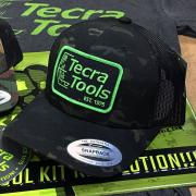 Tecra Dark Camo Snapback Cap
