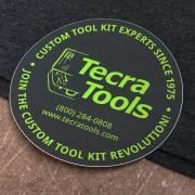"Tecra Tools 4"" Round Sticker"