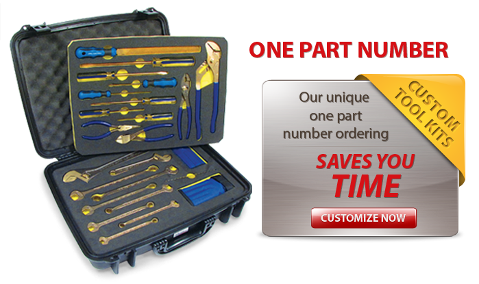 Image of Custom Tool Kit Benefits - One part number